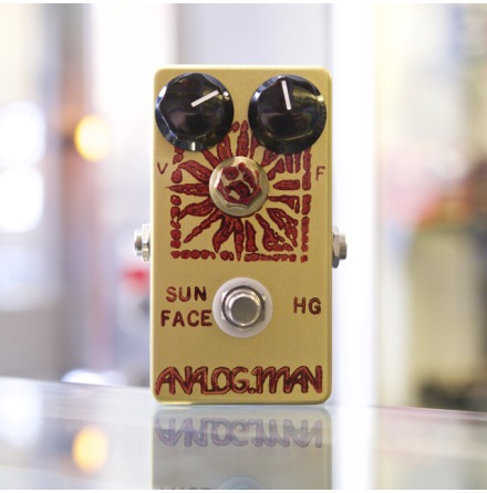 Analog Man SunFace Fuzz High Gain Germanium Transistors