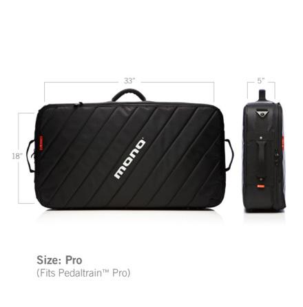 MONO M80 Pro Pedalboard Case 2.0, Black
