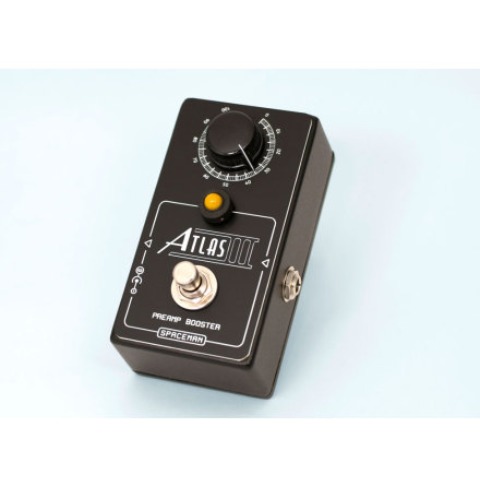 Spaceman Atlas III preamp booster Black Edition