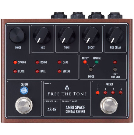 Free the Tone Ambi Space Reverb AS1-R