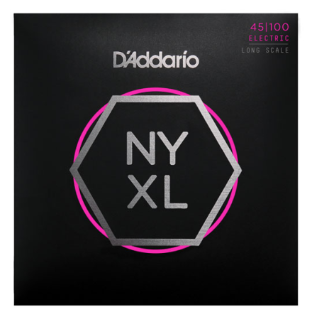 DADDARIO NYXL45100 Elbas NYXL Nickel Wound 045-100 Light