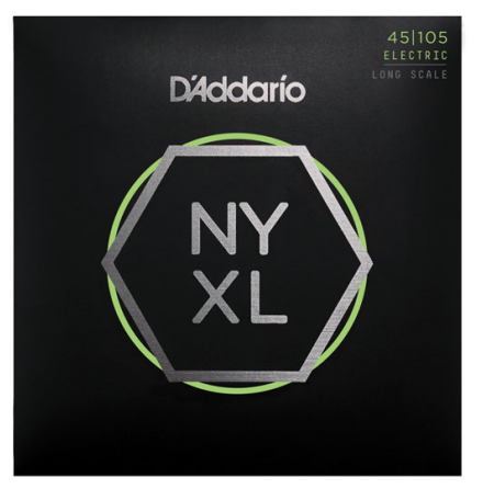 D´Addario Elbas NYXL Nickel Wound 045-105 Custom Light