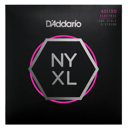 D´Addario Elbas NYXL Nickel Wound 045-130 (5-str) Custom Light