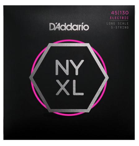 D´Addario Elbas NYXL Nickel Wound 045-130 (5-str) Custom Light