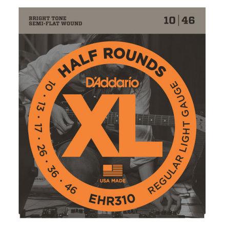 D´Addario Elgitarr Half Rounds 010-046