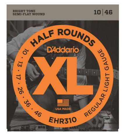 DADDARIO EHR310 Elgitarr Half Rounds 010-046