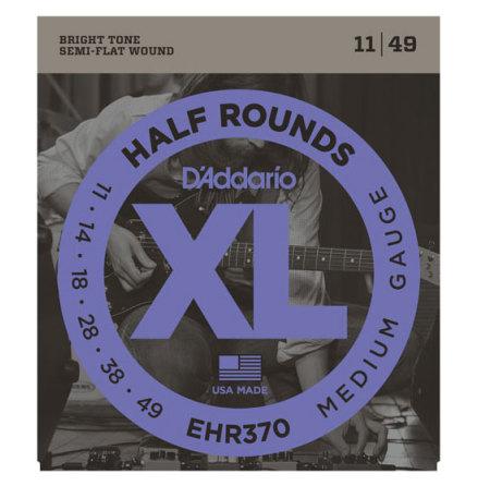 D´Addario Elgitarr Half Rounds 011-049
