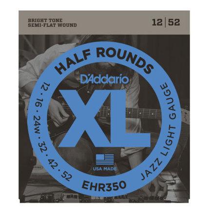 D´Addario Elgitarr Half Rounds 012-052