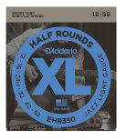 DADDARIO EHR350 Elgitarr Half Rounds 012-052