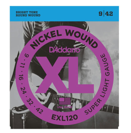 DADDARIO EXL120 Elgitarr Nickel Wound 009-042