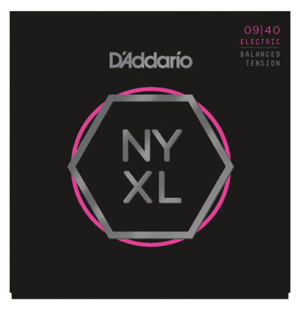 D´Addario Elgitarr NYXL 009-040 (Balanced Tension)