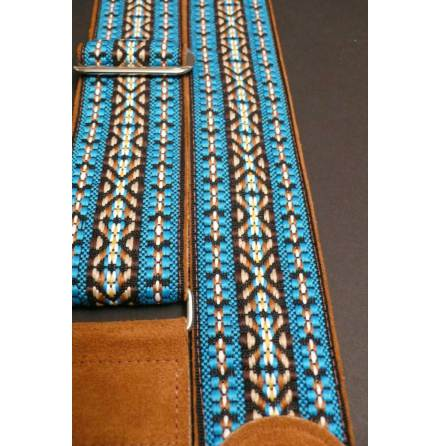 JayKco Turquoise Brown Woven Limited Edition