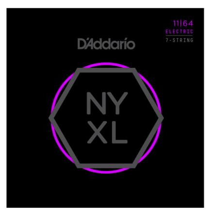 DADDARIO NYXL1164 Elgitarr NYXL 7-string 011-064
