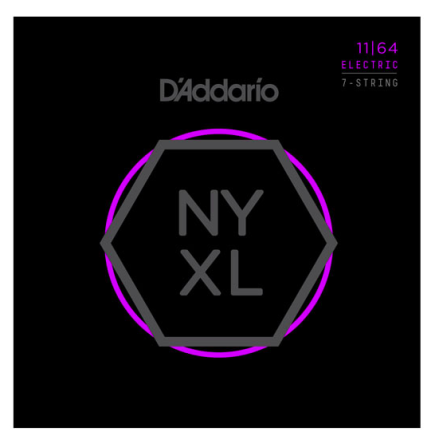 D´Addario Elgitarr NYXL 7-string 011-064
