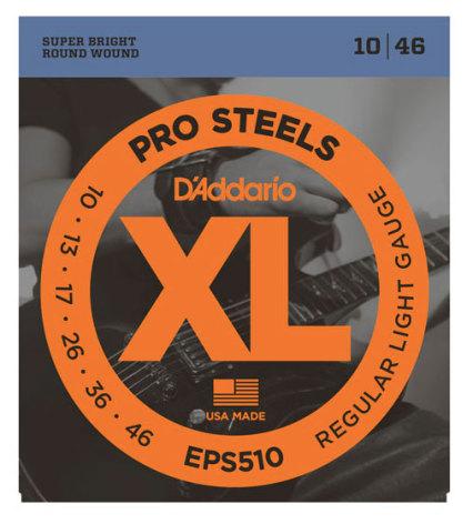 DADDARIO EPS510 Elgitarr ProSteels 010-046