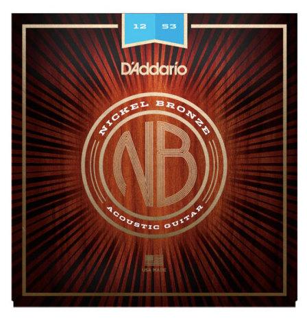 D´Addario Western Nickel Bronze 012-053