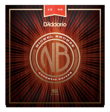 DADDARIO NB1356 Western Nickel Bronze 013-056
