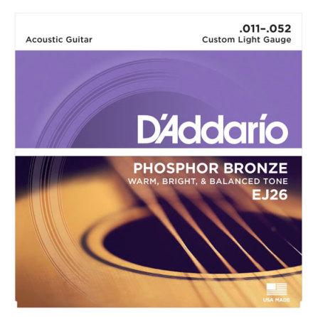 DADDARIO EJ26 Western Phosphor Bronze 011-052