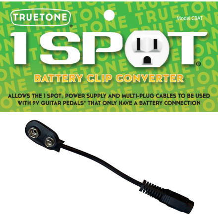 Truetone Battery Clip Converter