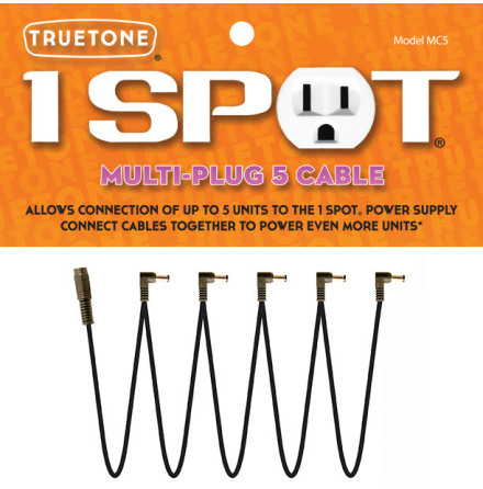 Truetone Multi-Plug 5 DC Cable