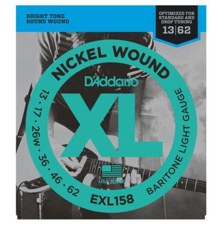 D´Addario EXL158 Baritone Nickel Wound 013-062