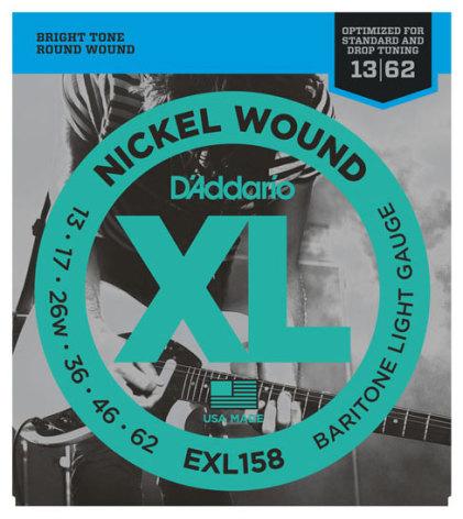 DADDARIO EXL158 Baritone Nickel Wound 013-062
