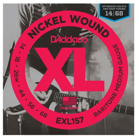 DADDARIO EXL157 Baritone Nickel Wound 014-068