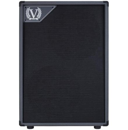 Victory V212-VG Closed Back 2x12 Cabinet in Grey Vinyl for Kraken