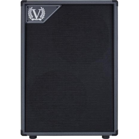 Victory V212VG Closed Back 2x12 Cabinet in Grey Vinyl for Kraken