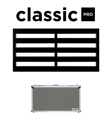 Pedaltrain Classic Pro Pedalboard with Tour Case