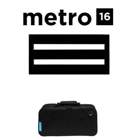 Pedaltrain Metro 16 Pedalboard with Soft Case