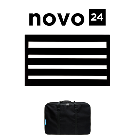 Pedaltrain Novo 24 Pedalboard with Soft Case