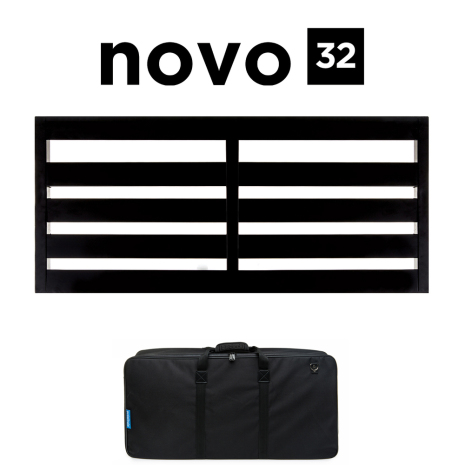 Pedaltrain Novo 32 Pedalboard with Soft Case
