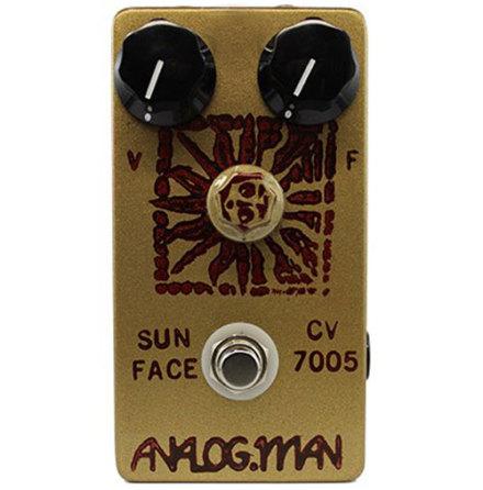 Analog Man SunFace Fuzz 1973 Mullard Germanium w Sundial