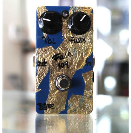 BJF Fuzz 109 Blue / Gold