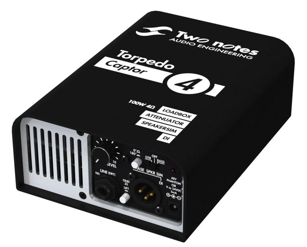 two notes torpedo captor loadbox attenuator speaker sim tgt11. Black Bedroom Furniture Sets. Home Design Ideas