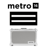 Pedaltrain Metro 16 Pedalboard with Tour Case