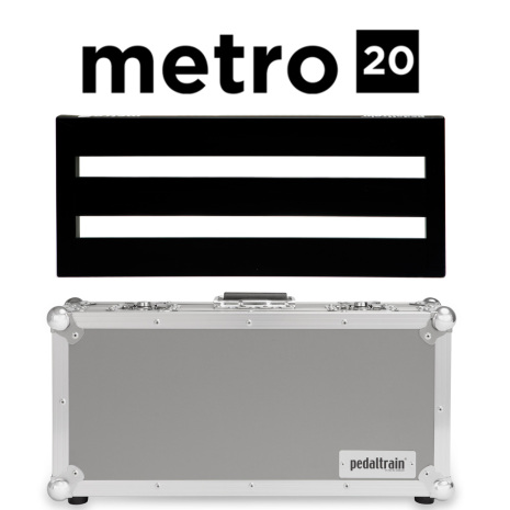 Pedaltrain Metro 20 Pedalboard with Tour Case