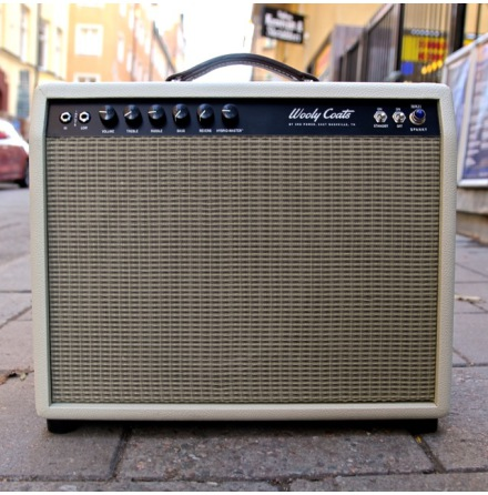 3rd Power Wooly Coats Spanky MKII 112 Vanilla tolex wheat grill