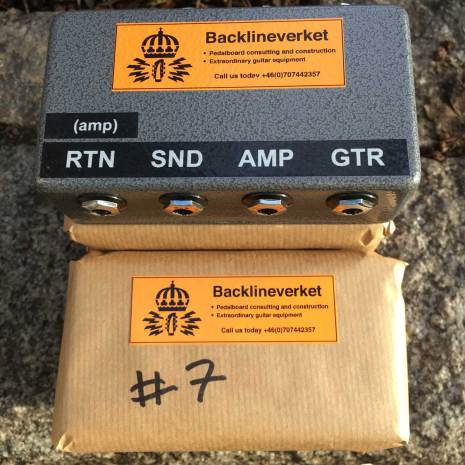 Backlineverket 4 Cable Patchbay/Interface