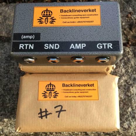 Backlineverket FX/Loop Series Interface