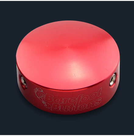 Barefoot Buttons V2 RED