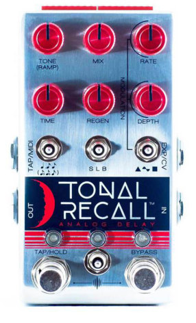 Chase Bliss Audio Tonal Recall Red Knob Version