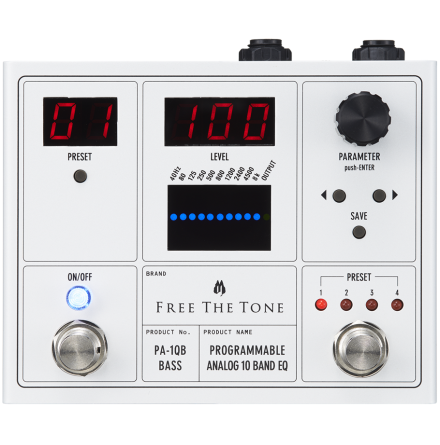Free the Tone PA-1QB Programmable Analog EQ Bass