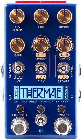 Chase Bliss Audio Thermae Analog Delay / Pitch Shifter