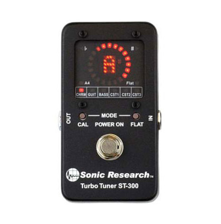 Sonic Research ST-300 Turbo Tuner