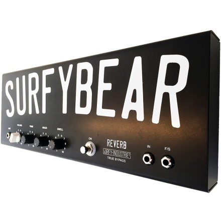 Surfy Industries SurfyBear Pedal metal