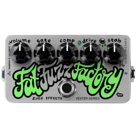 Zvex Fat Fuzz Factory Vexter