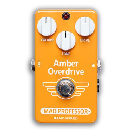 Mad Professor Amber Overdrive Custom Shop
