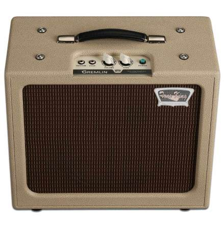 Tone King Gremlin 5-watt 1x12 Tube Combo w/Attenuator - Cream